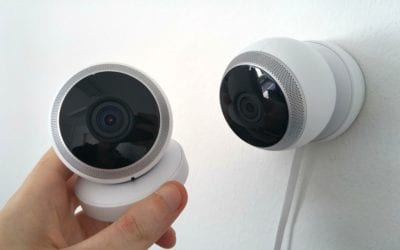 Why use a commercial electrician for security camera installation?